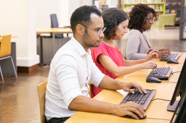 Direct data entry projects with company